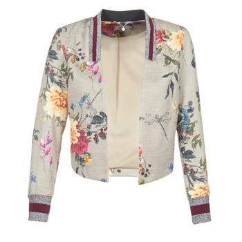 material Women Jackets / Blazers Only FLORA Grey