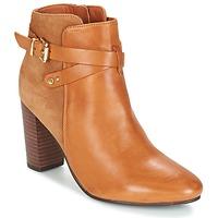 Shoes Women Ankle boots Bocage ERWAN COGNAC