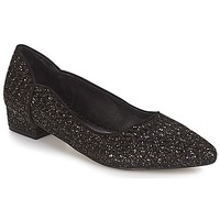 Shoes Women Ballerinas Ravel  Black-glitter