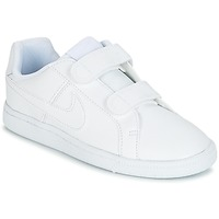 Shoes Boy Low top trainers Nike COURT ROYALE CADET White