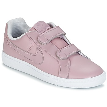 Shoes Girl Low top trainers Nike COURT ROYALE CADET Pink
