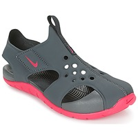 Shoes Girl Sandals Nike SUNRAY PROTECT 2 CADET Grey / Pink