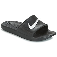 Shoes Men Sliders Nike KAWA SHOWER SLIDE Black / White
