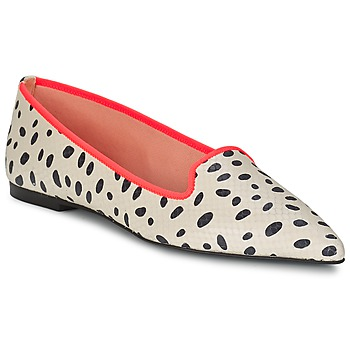 Shoes Women Ballerinas Pretty Ballerinas MEIJI Ecru