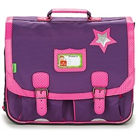 Bags Girl Satchels Tann's LES CHICS FILLES CARTABLE 41CM PRUNE