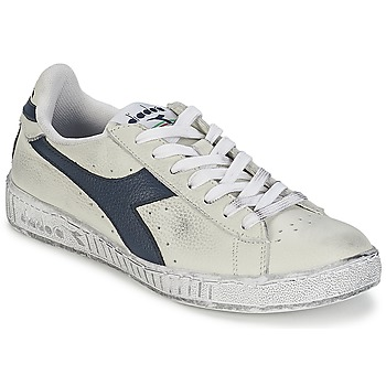 Shoes Low top trainers Diadora GAME L LOW WAXED White / Blue