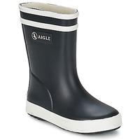 Shoes Children Wellington boots Aigle BABY FLAC Black