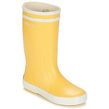 Shoes Children Wellington boots Aigle LOLLY POP Yellow / White