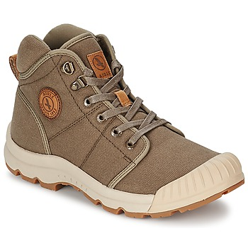 Shoes Men High top trainers Aigle TENERE LIGHT Kaki