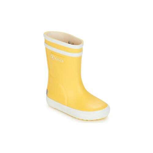 Shoes Children Wellington boots Aigle BABY FLAC Yellow