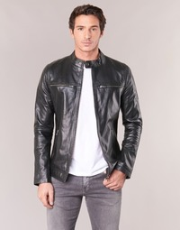 material Men Leather jackets / Imitation le Casual Attitude IHEXO Black