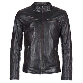 material Men Leather jackets / Imitation le Casual Attitude IHEXO Black