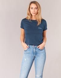 material Women short-sleeved t-shirts Yurban IHOULOU Marine