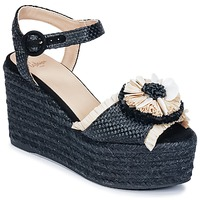 Shoes Women Sandals Castaner EFEDRA Black