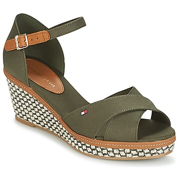 Shoes Women Sandals Tommy Hilfiger ICONIC ELBA SANDAL BASIC Green