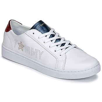 Shoes Women Low top trainers Tommy Hilfiger VENUS 22 White / Blue / Red
