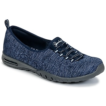 Shoes Women Low top trainers Skechers EASY-AIR IN-MY-DREAMS Blue / Marine