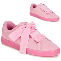 Shoes Women Low top trainers Puma SUEDE HEART RESET WN'S Pink
