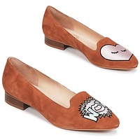 Shoes Women Ballerinas Mellow Yellow DRECCO Camel