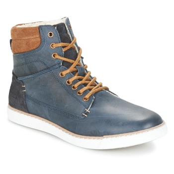 Shoes Boy High top trainers Bullboxer  Blue / Camel