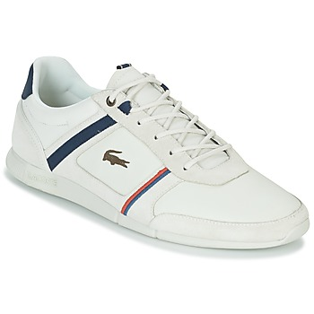 Shoes Men Low top trainers Lacoste MENERVA 118 1 White
