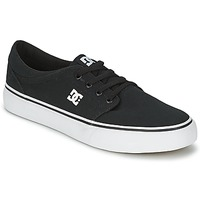 Shoes Men Low top trainers DC Shoes TRASE TX MEN Black / White
