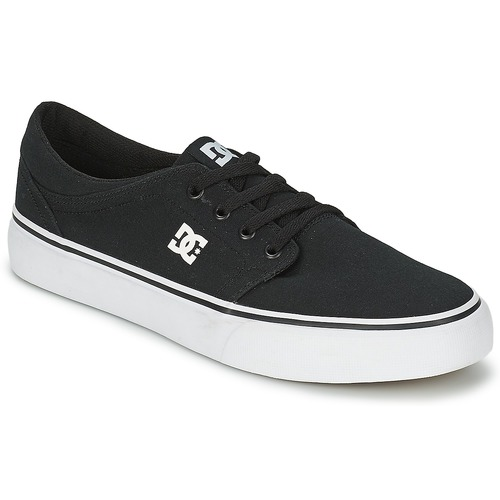 Shoes Men Low top trainers DC Shoes TRASE TX MEN Black / White