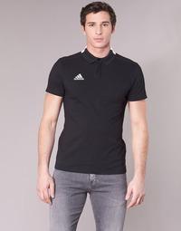 material Men short-sleeved polo shirts adidas Performance CON18 CO POLO Black