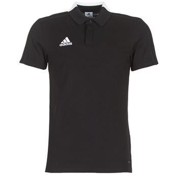 material Men short-sleeved polo shirts adidas Performance CON18 CO POLO Black
