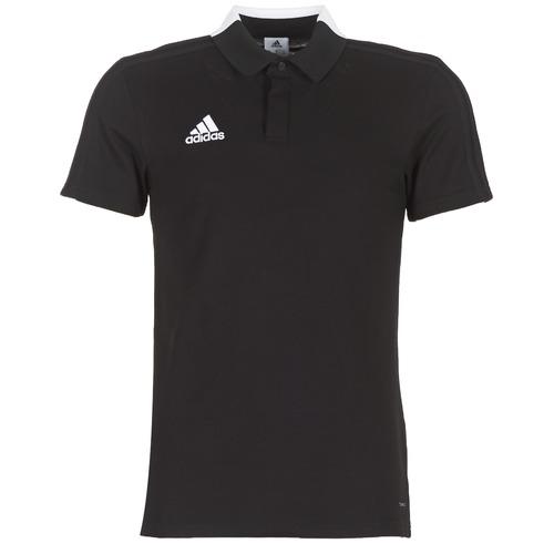 Adidas Originals Con18 Co Polo Black Free Delivery With Spartoo