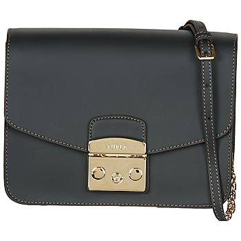 Bags Women Shoulder bags Furla METROPOLIS S CROSSBODY Black