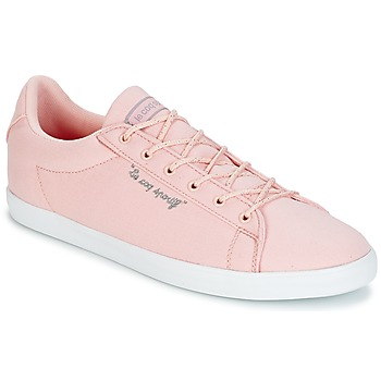 Shoes Women Low top trainers Le Coq Sportif AGATE LO CVS/METALLIC Pink