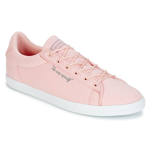0935bc65f546 Shoes Women Low top trainers Le Coq Sportif AGATE LO CVS METALLIC Pink