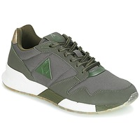 Shoes Women Low top trainers Le Coq Sportif OMEGA X W METALLIC Kaki