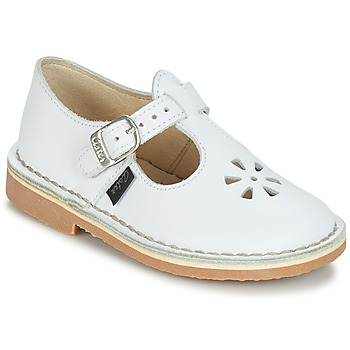 Shoes Children Ballerinas Aster DINGO White