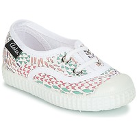 Shoes Girl Low top trainers Aster MILEY White