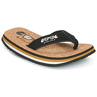 Shoes Men Flip flops Cool shoe ORIGINAL Black / Camel