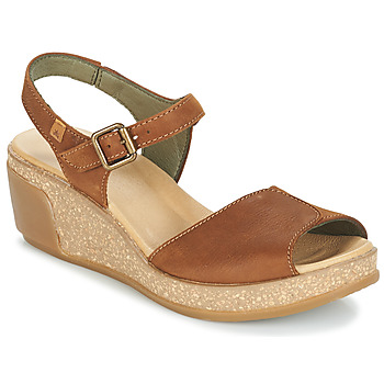 Shoes Women Sandals El Naturalista LEAVES Brown