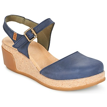 Shoes Women Sandals El Naturalista LEAVES Blue