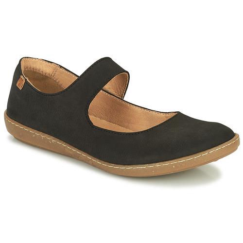 Shoes Women Ballerinas El Naturalista CORAL Black