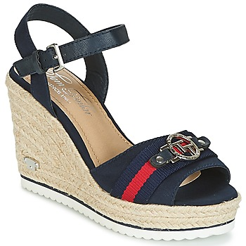 Shoes Women Sandals Tom Tailor CRYSTYA Marine