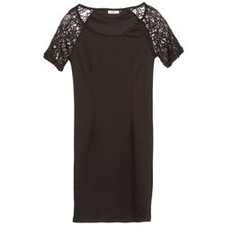 material Women Short Dresses Only DIVA Black