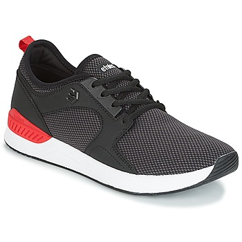 Shoes Men Low top trainers Etnies CYPRUS SC Black / Red