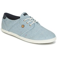 Shoes Low top trainers Faguo CYPRESS COTTON Blue