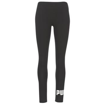 material Women leggings Puma ESS NO.1 LEGGINGS W Black