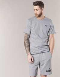 material Men short-sleeved t-shirts Puma ESS TEE Grey