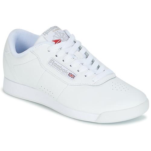 df3eb2c0731 Reebok Classic PRINCESS. 78.50. Shoes Women Low top trainers Reebok Classic  PRINCESS White ...