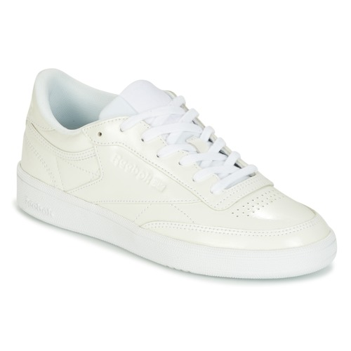 0a10066d75f Reebok Classic CLUB C 85 PATENT White - Free delivery with Spartoo ...