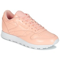 Shoes Women Low top trainers Reebok Classic CLASSIC LEATHER PATENT Pink