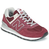 Shoes Low top trainers New Balance ML574 Bordeaux